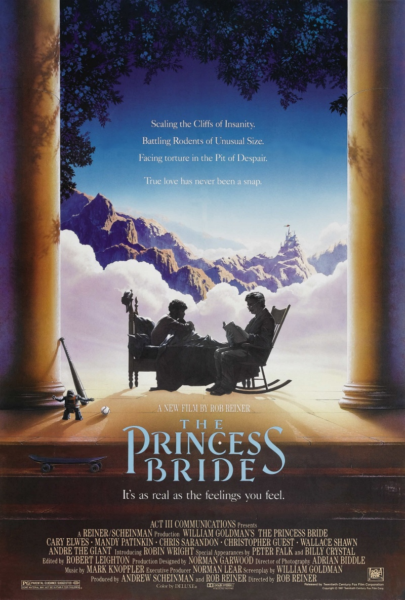 a plot overview of rob reiners directed film the princess bride The princess bride is a film directed by rob reiner with robin wright, cary elwes, mandy patinkin, chris sarandon,  year: 1987 original title: the princess bride.